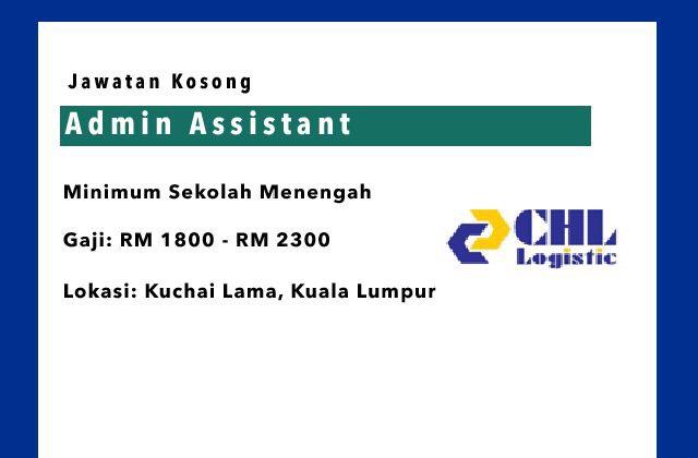 Jawatan Kosong Admin Assistant Kuala Lumpur Jawatan Kosong Terkini