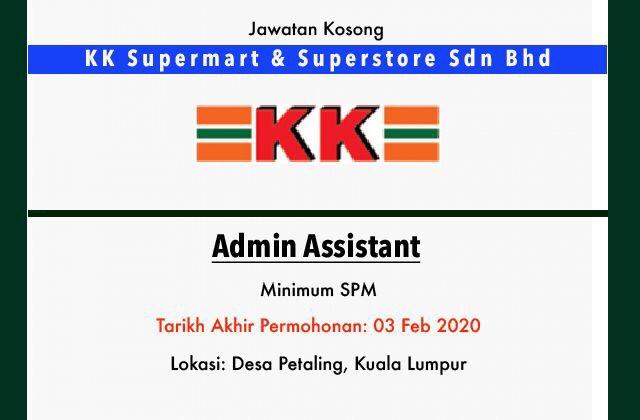 Jawatan Kosong Terkini Kk Supermart And Superstore Sdn Bhd Kuala Lumpur Jawatan Kosong Terkini