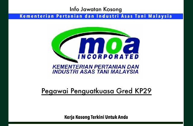 Info Jawatan Kosong Terkini Kementerian Pertanian Dan Industri Asas Tani Jawatan Kosong Terkini