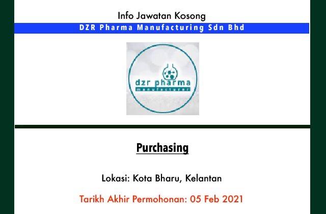 Info Jawatan Kosong Terkini - DZR Pharma Manufacturing Sdn ...