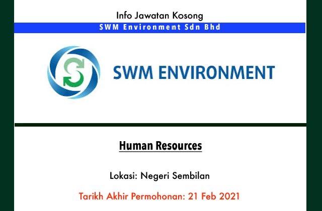 Info Jawatan Kosong Terkini - SWM Environment Sdn Bhd ...